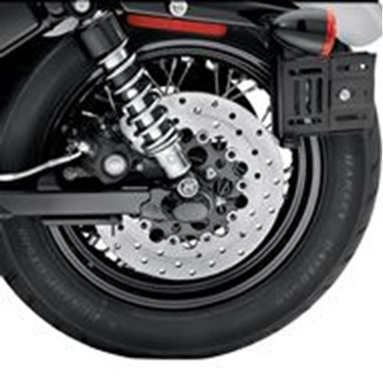 Axle Cover Rear Black Jersey Harley Davidson