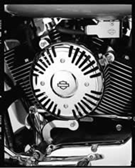 Kit Fan Accessory Flt Chrom Jersey Harley Davidson