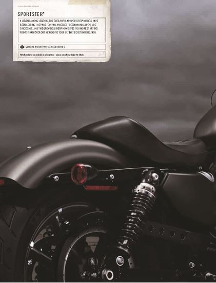 Picture of Sportster Catalogue 2016