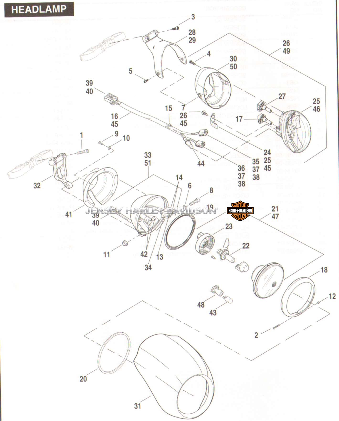 harley davidson softail wiring diagram for 1989