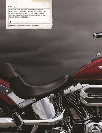 Picture of Softail Catalogue 2016
