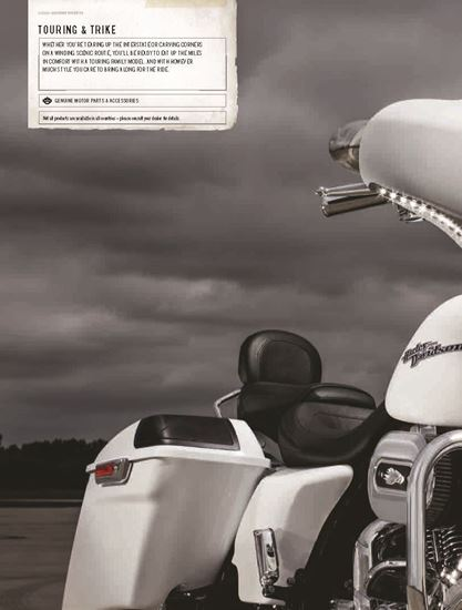 Picture of Touring & Trike Catalogue 2016